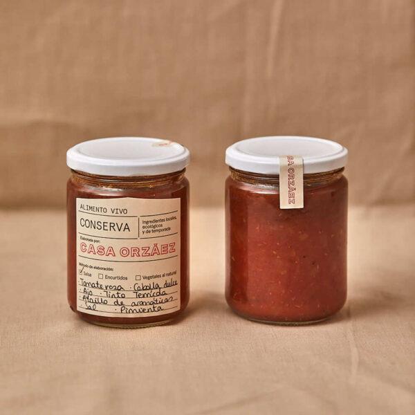 116 -Salsa de tomate rosa