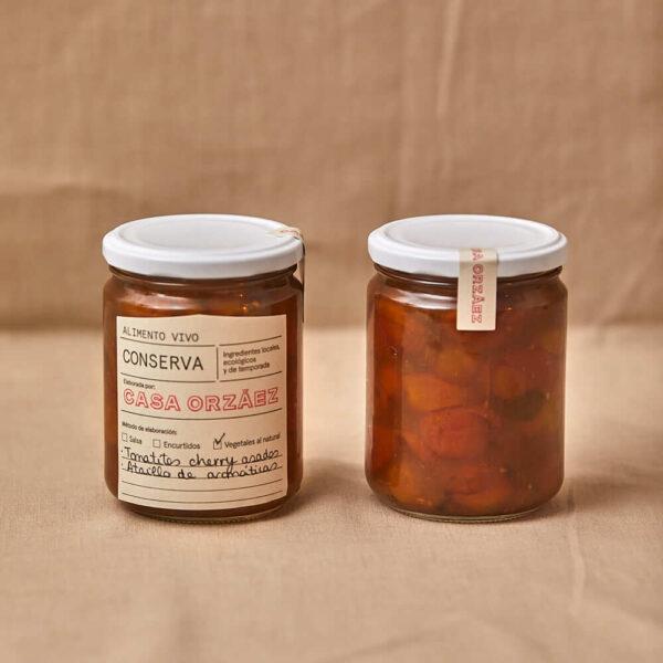 117- Tomatitos cherry asados