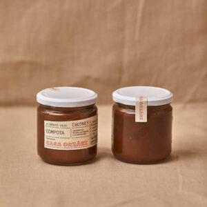 130 - Chutney de castaña y manzana asada