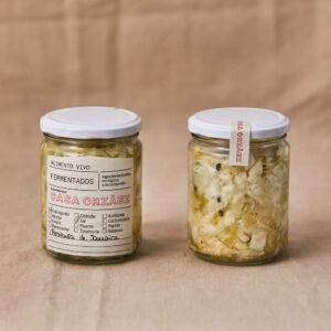 Chucrut de Col repollo con pimienta de Jamaica